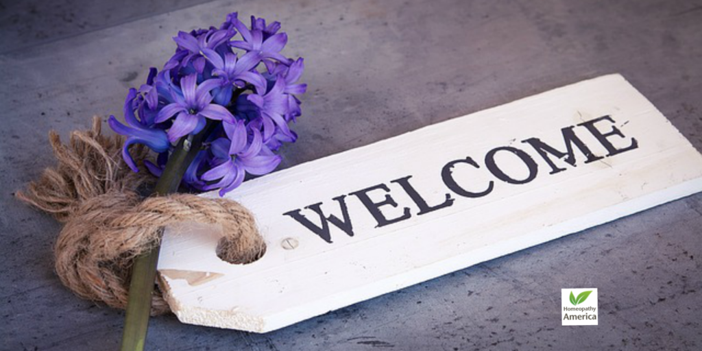 Welcome New Homeopathy Patients