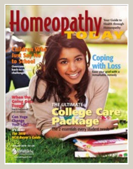 Homeopathy Today fall 2018
